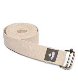 Popruh na cvičenie jogy - béžový