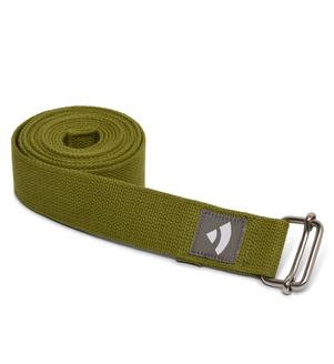 Popruh na jogu - olivový