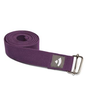 Popruh na jogu - fialový