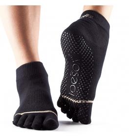 Ponožky ToeSox Ankle - čierne