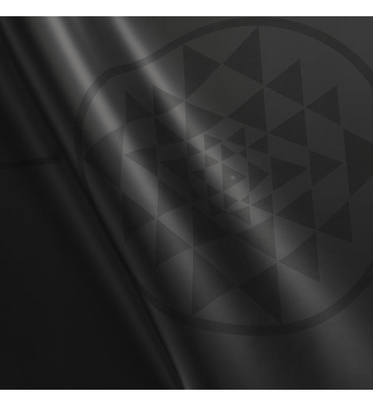 PHOENIX Yantra čierna - podložka na jogu