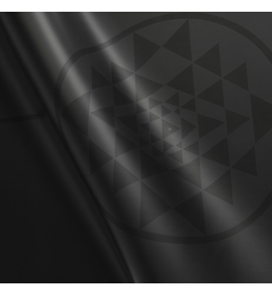 Podložka na jogu PHOENIX Yantra - čierna