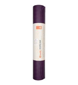 ECOPRO 4mm fialová - kaučuková podložka na jogu