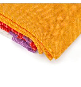 SHAVASANA bavlnená joga deka - farebná
