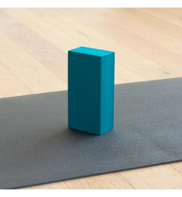 Tehlička na jogu EVA - petrol