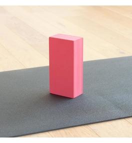 Tehlička na jogu EVA - bordová