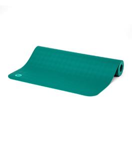 ECOPRO 4mm tmavozelená - kaučuková podložka na jogu