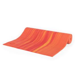 GANGES - červeno-oranžová 6mm joga podložka