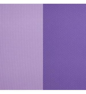 Detail štruktúry fialovej  karimatky LOTUS PRO