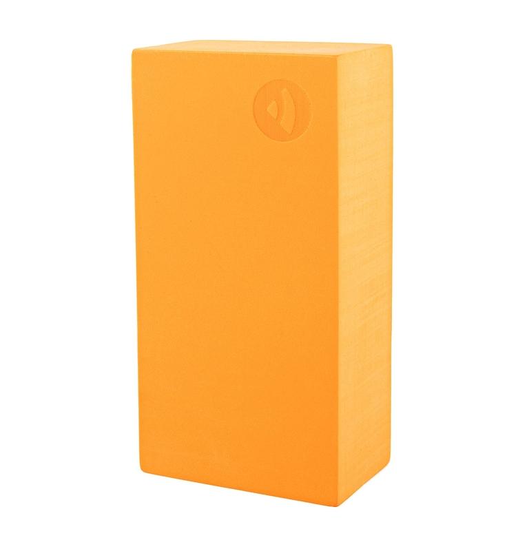 Tehlička na jogu EVA - oranžová