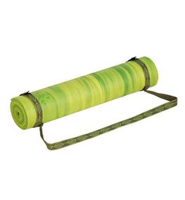 Popruh na joga podložku - olivový